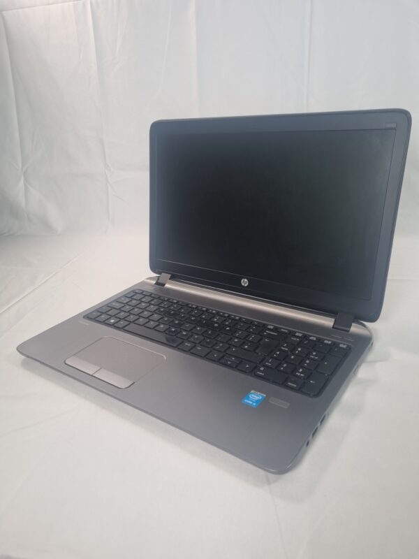 Laptop front at an angle