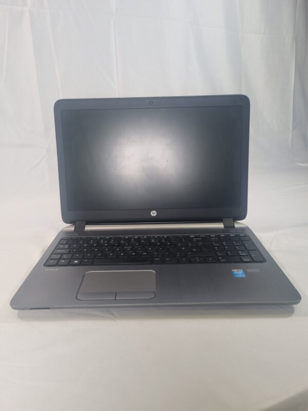 front of laptop