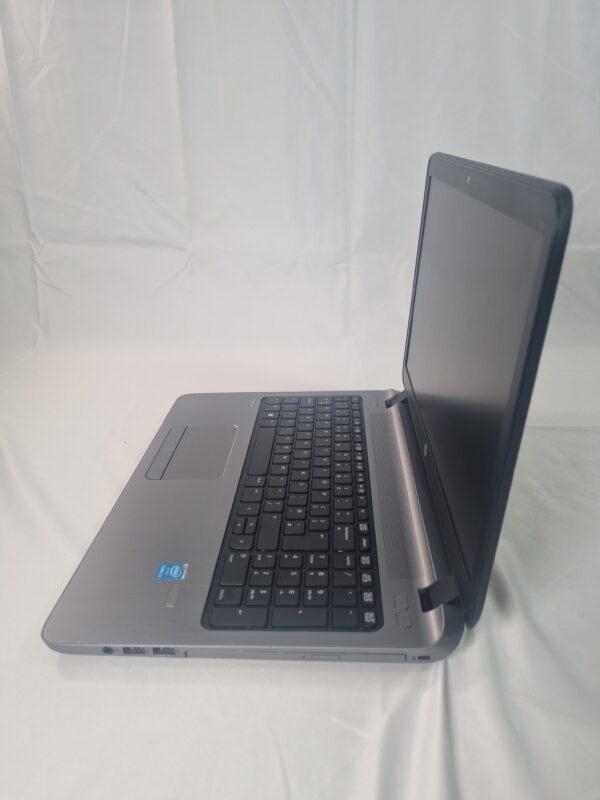Side of laptop